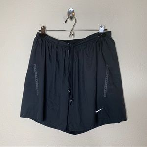 Nike Black 5' Race Day Running Shorts